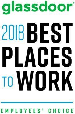 Glassdoor Best Places to Work 2018