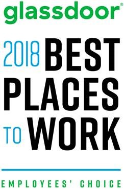 Glassdoor Best Places to Work 2018