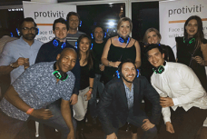 London's proPRIDE group at a Silent Disco
