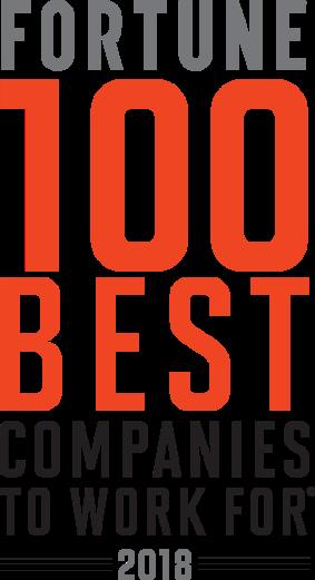 Fortune100 Best logo 2018